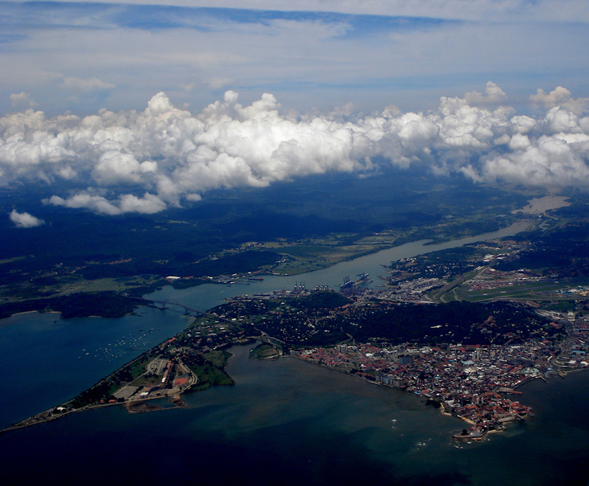 Panama Canal - Pacific Side Entrance.jpg
