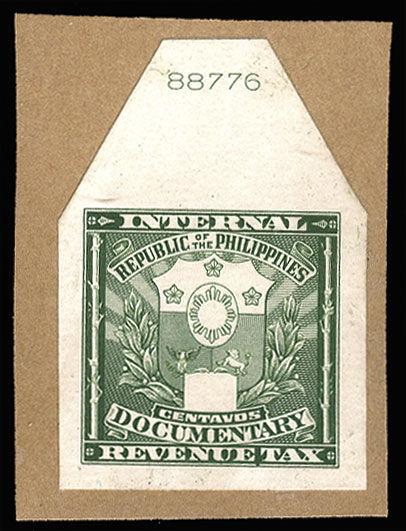 File:Philippines 1947 Documentary Revenue Stamp Die Proof on card.jpg
