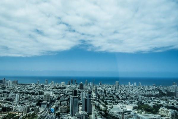 תל אביב מבט מלמעלה