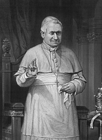 Pope Pius IX, who was Beatified on 3 September 2000 Pope Pius IX.jpg