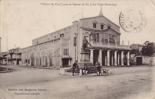 File:Port Louis Mauritius Theatre.jpg