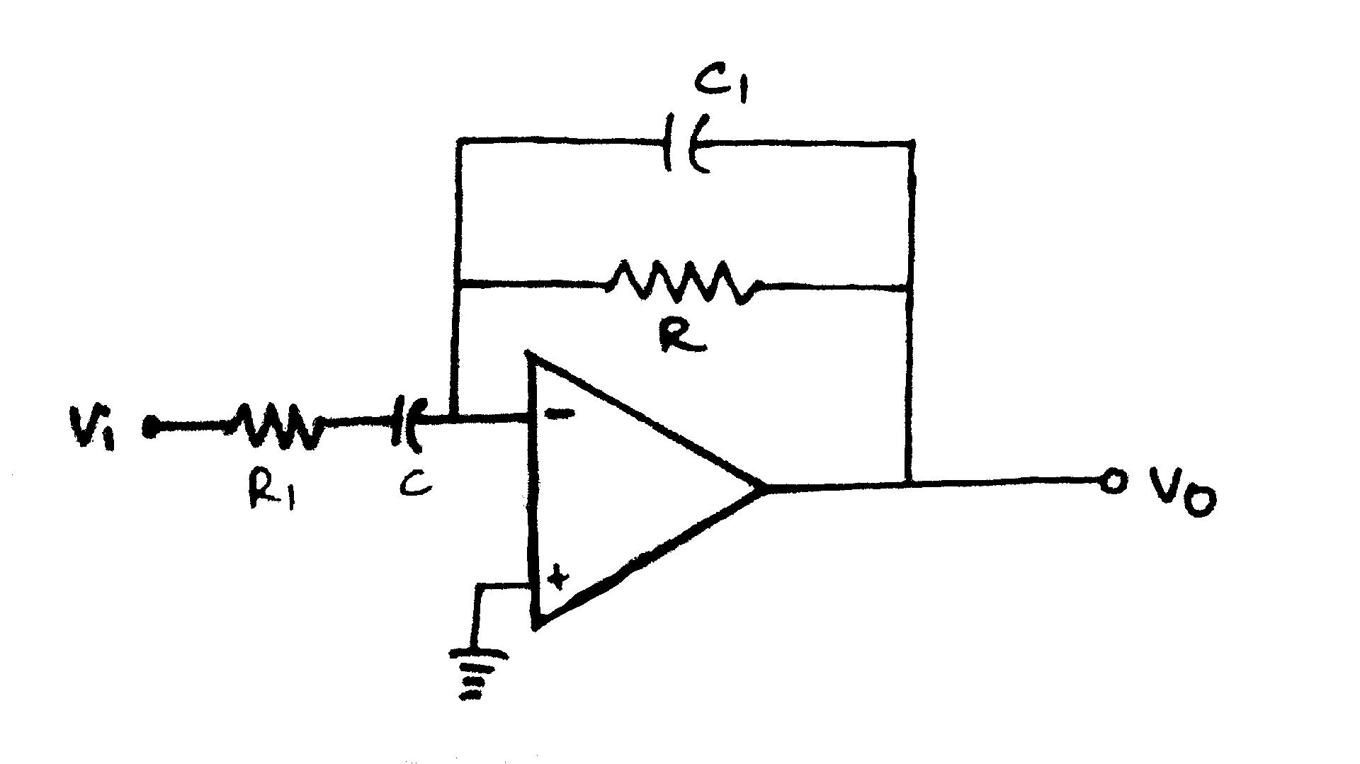 File:Practical Differentiator Circuit Diagram png