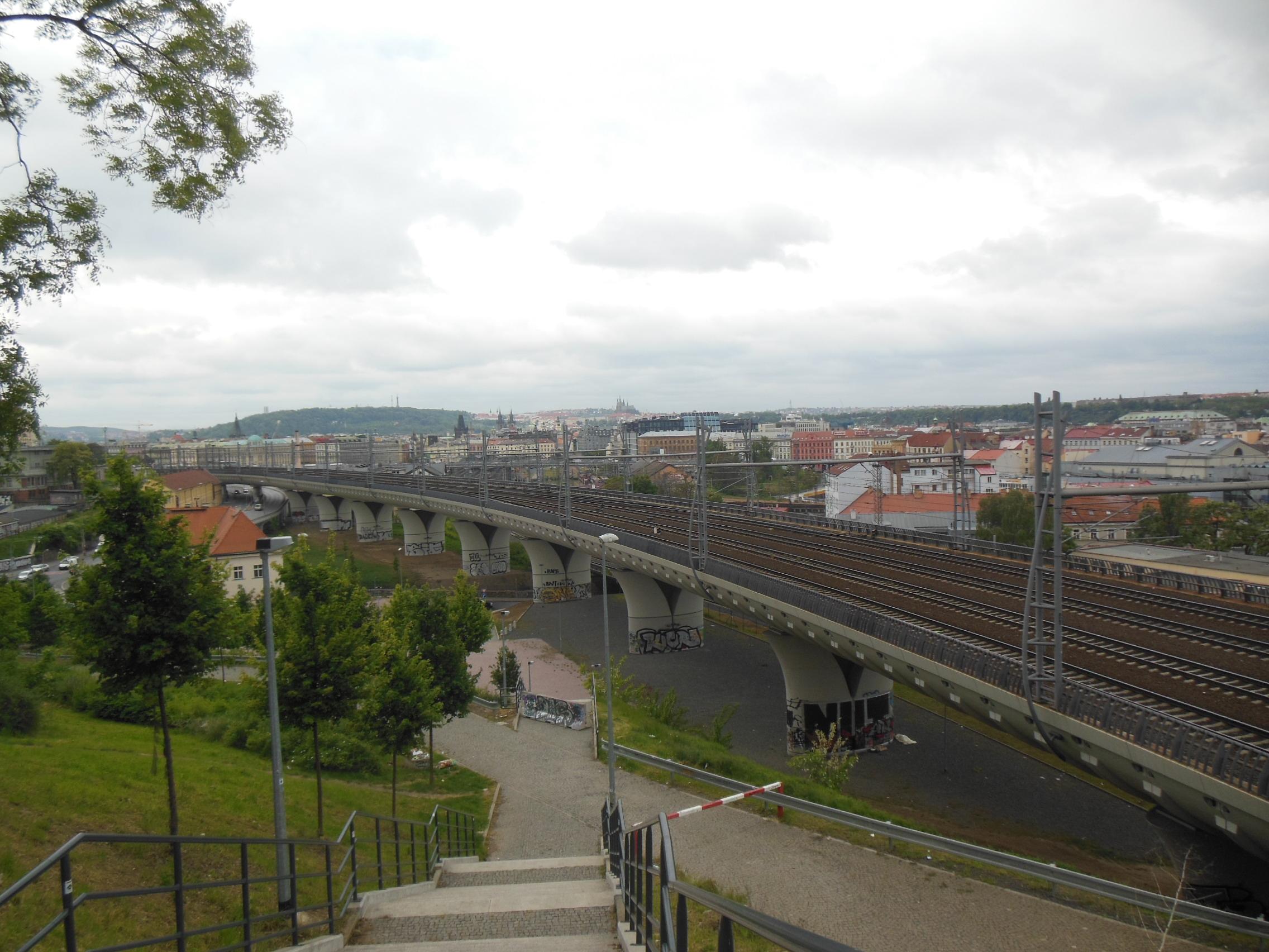 Praha, Žižkov, viadukt Nového spojení.jpg