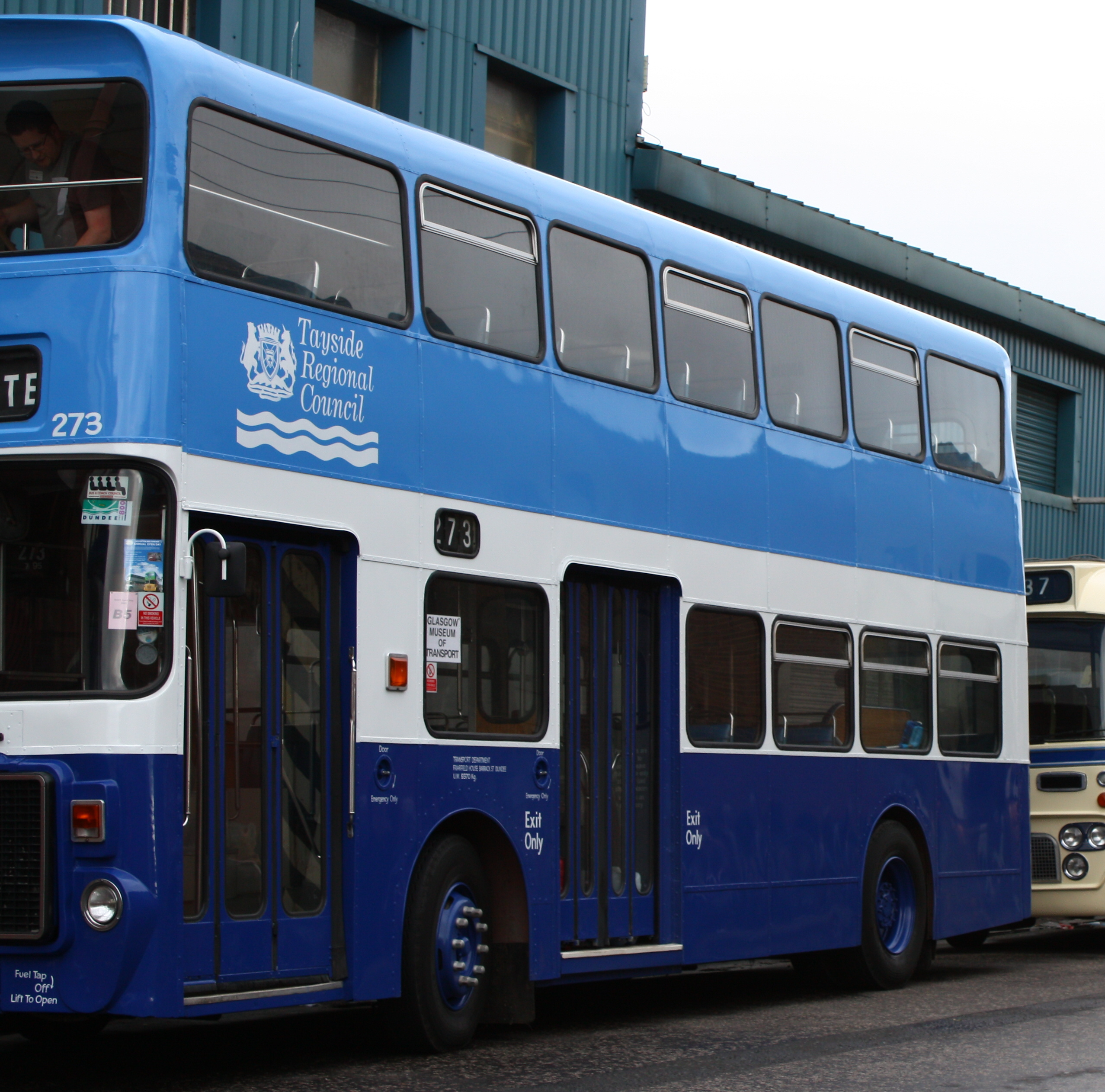 File Preserved Tayside Regional Council Bus 273 Wts 276t