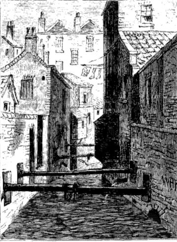 fleet ditch river london 1844