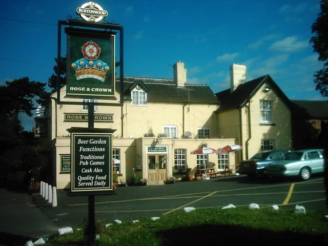 Rose and Crown, Brailsford, Derbyshire - geograph.org.uk - 1659894