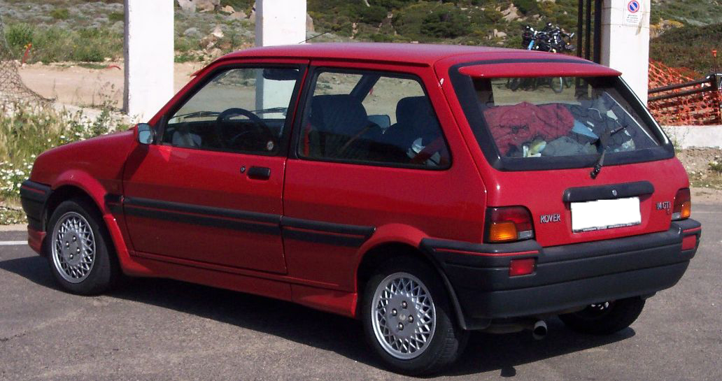 file rover metro gti red wikimedia commons. Black Bedroom Furniture Sets. Home Design Ideas