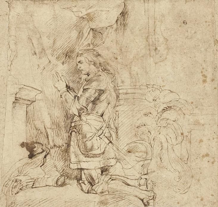 Klęcząca Joanna d'Arc