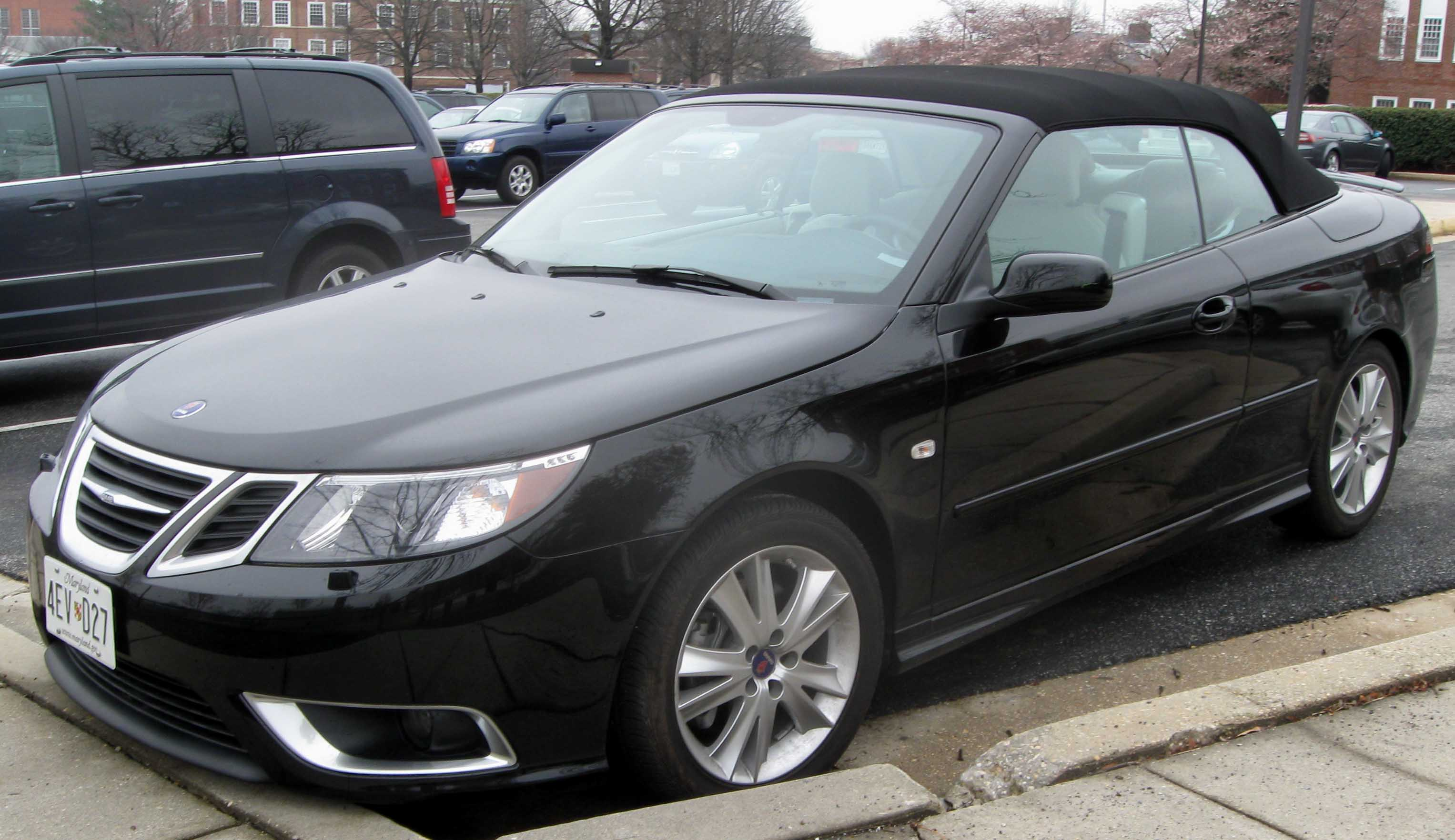 file saab 9 3 convertible jpg wikimedia commons. Black Bedroom Furniture Sets. Home Design Ideas