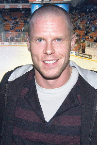 English: Saku Koivu at the IIHF Ice hockey wor...