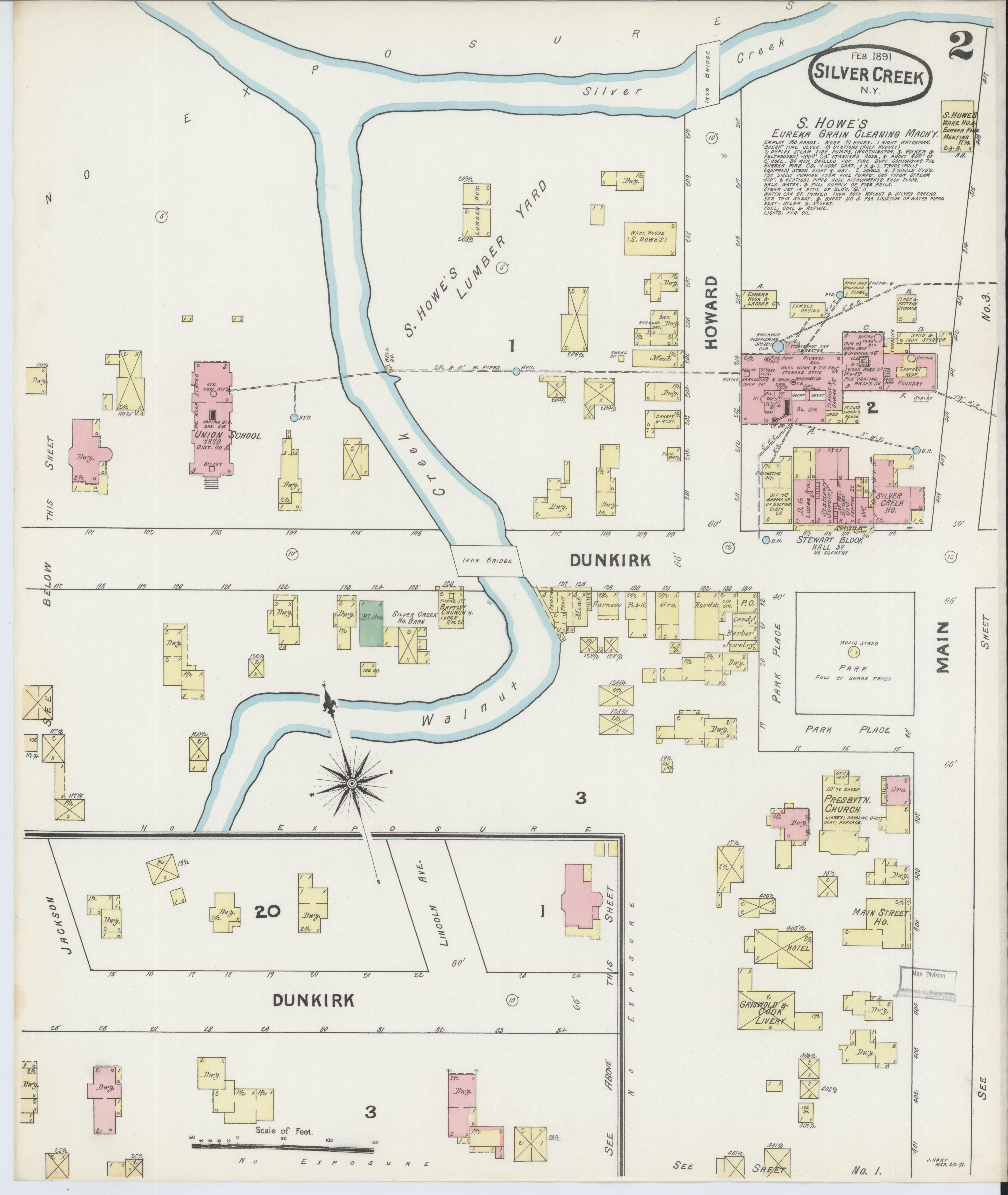 File Sanborn Fire Insurance Map From Silver Creek Chautauqua County