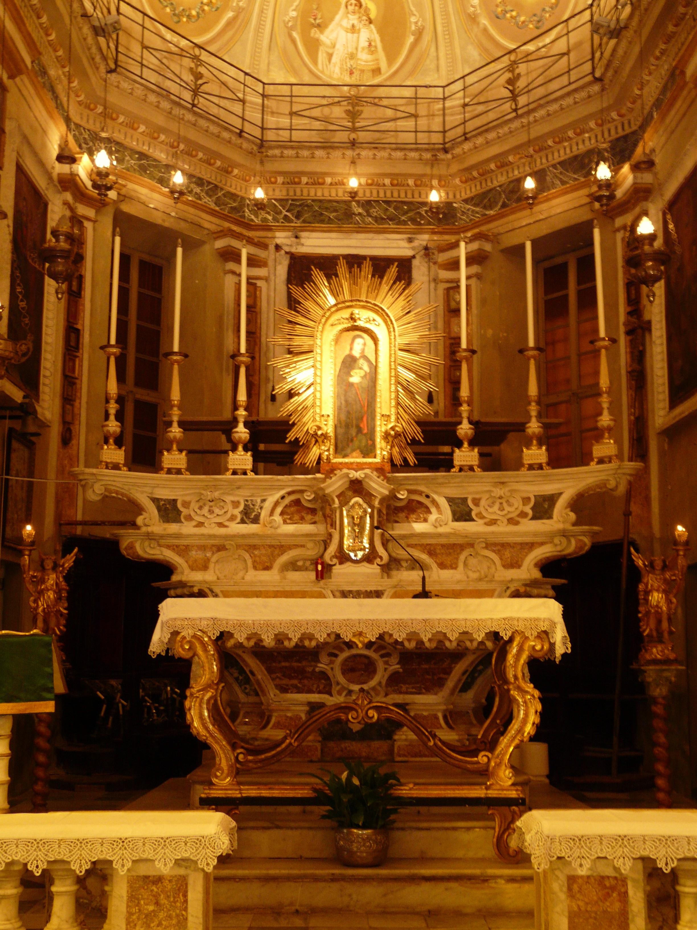 File:Santa Margherita Ligure-oratorio san bernardo-altare ...