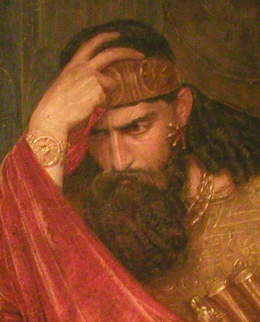 LOS REYES DE ISRAEL  Saul_1878
