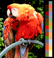 Screen color test Amiga 32colors.png
