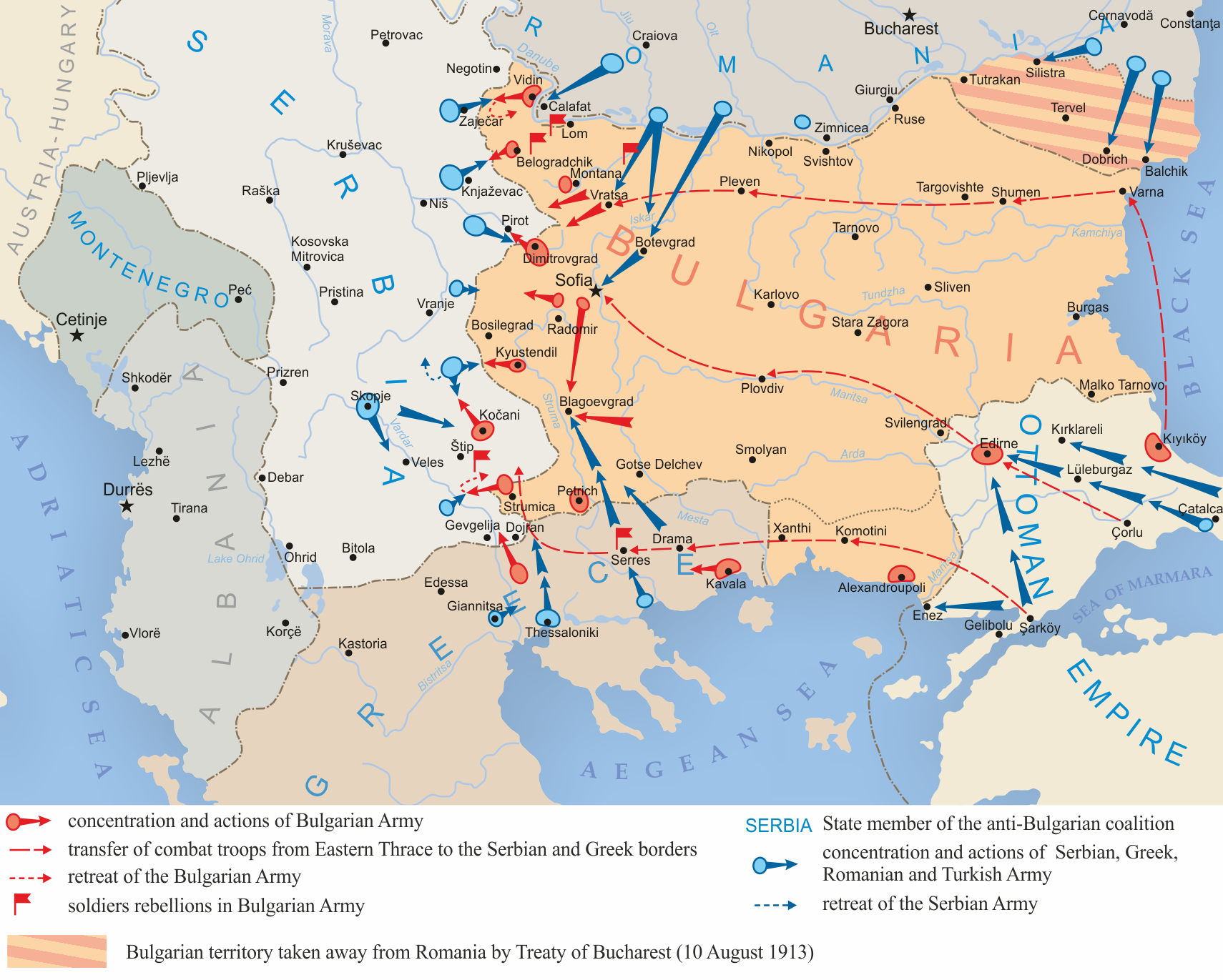 a history of the conflict in the balkans