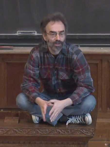 Shelly Kagan at Yale University