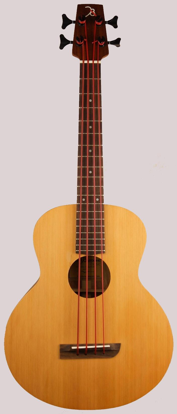 aquila 23 inc short bass 1 at Ukulele corner