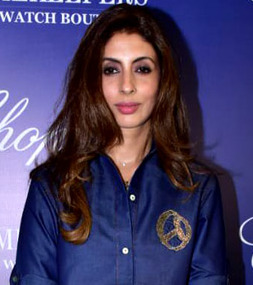 Shweta Bachchan Nanda at Timekeepers Chopard event.jpg