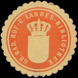 File:Siegelmarke Gr. Bad. Hof- und Landes-Bibliothek W0393804.jpg