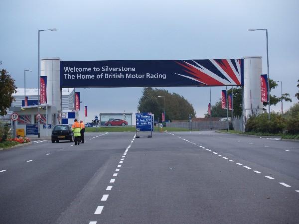 Silverstone entrance