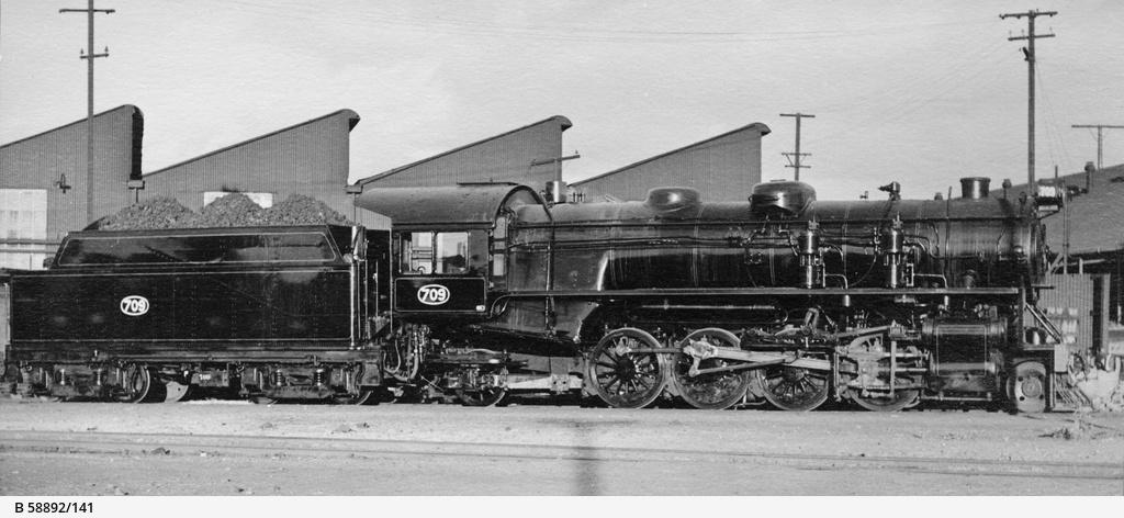 south australian railways 700 class  steam