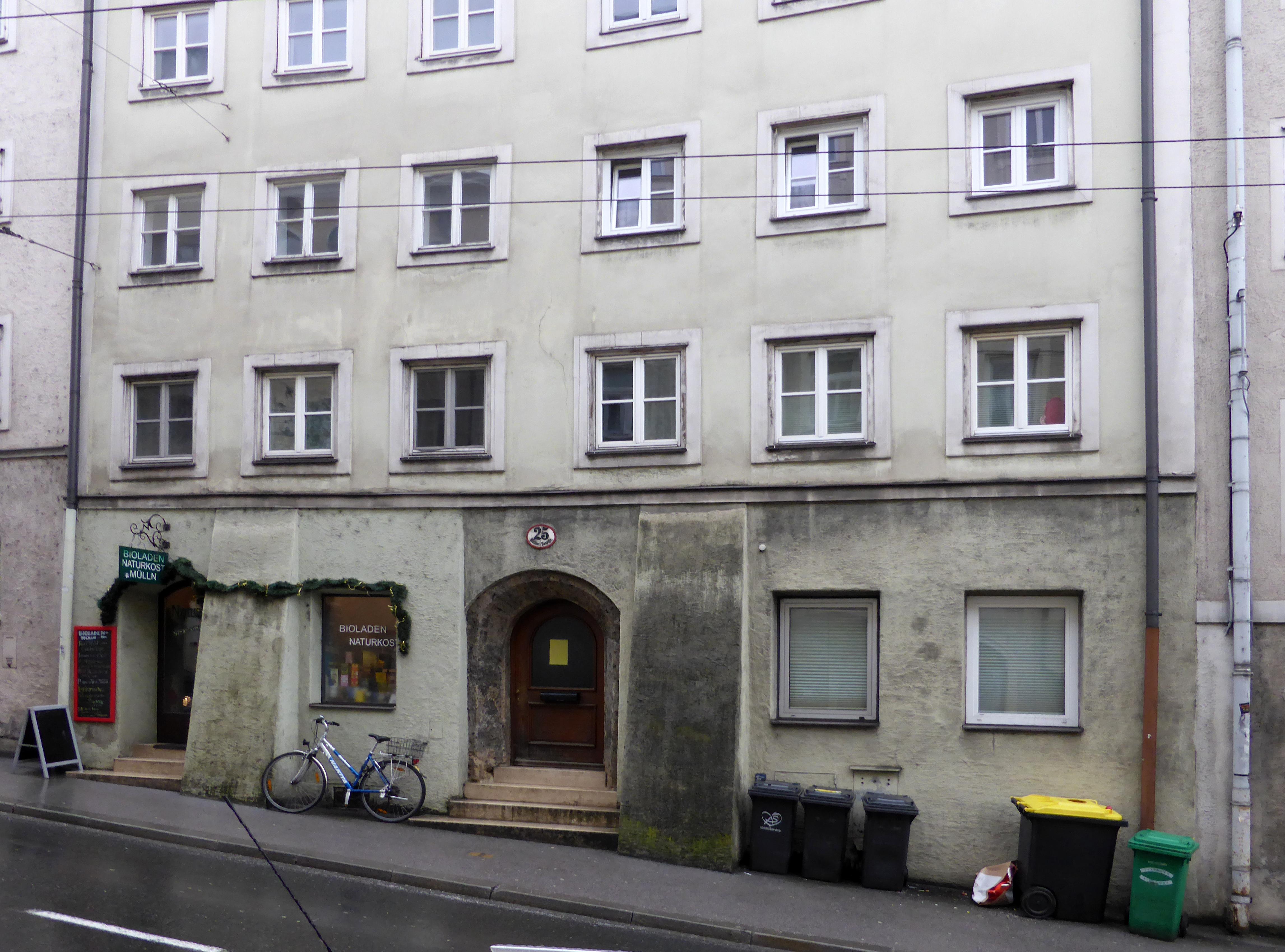 Datei:Stolperstein Salzburg, Wohnhaus Müllner Hauptstraße 25.jpg – Wikipedia