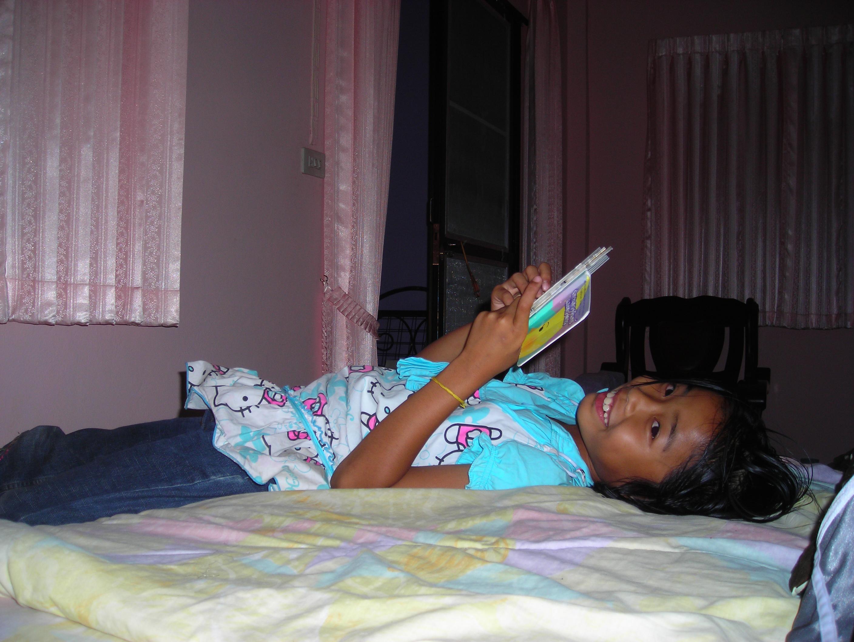 Thai girl in room