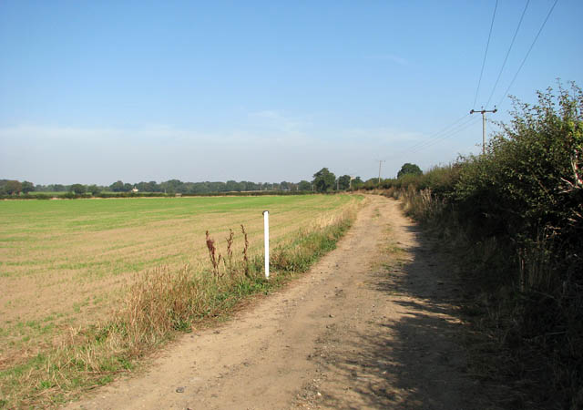 The Angles Way from Somerleyton to Ashby - geograph.org.uk - 1509744
