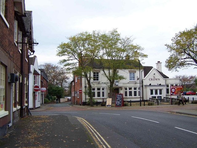 The Crown, Codsall - geograph.org.uk - 1563741