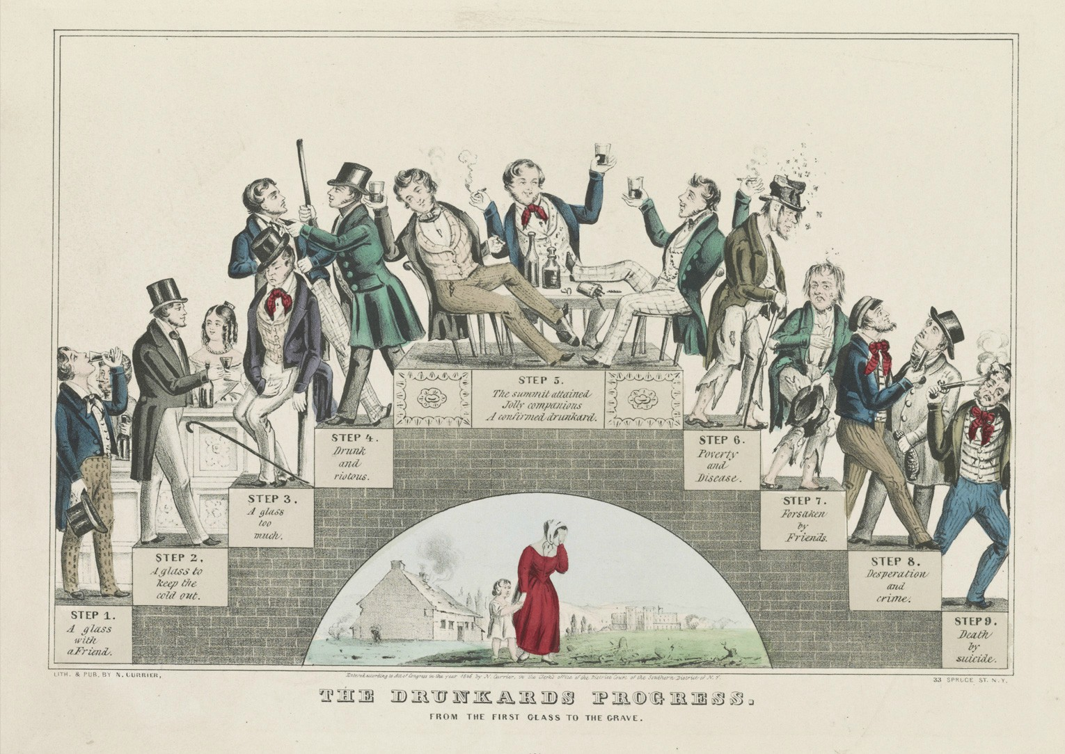 File:The Drunkard's Progress - Color.jpg - Wikipedia, the free ...