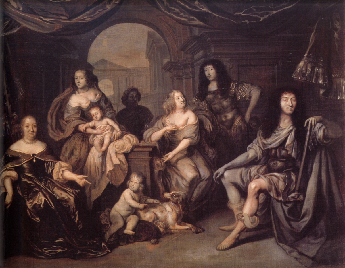 File:The French Royal Family in circa 1663 by Jacob van Loo.png