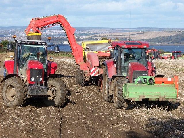File The Last Potato Harvest Geograph Org Uk 1241334 Jpg