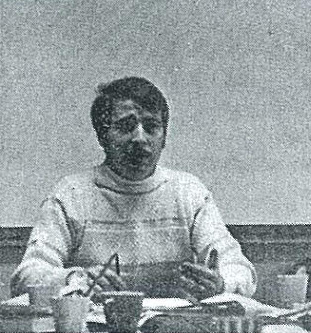 Thomas Locker teaching at Shimer College
