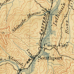 1896 USGS Topographic Map