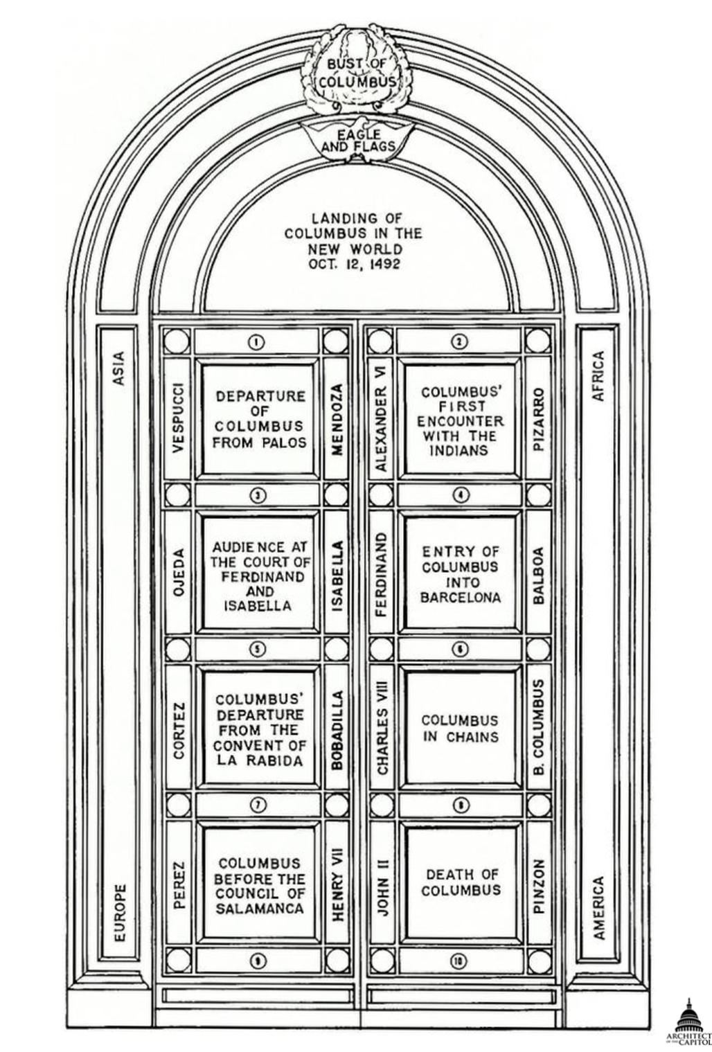 FileUSA Capitol - Columbus Doors Drawing AOC.png  sc 1 st  Wikimedia Commons & File:USA Capitol - Columbus Doors Drawing AOC.png - Wikimedia Commons