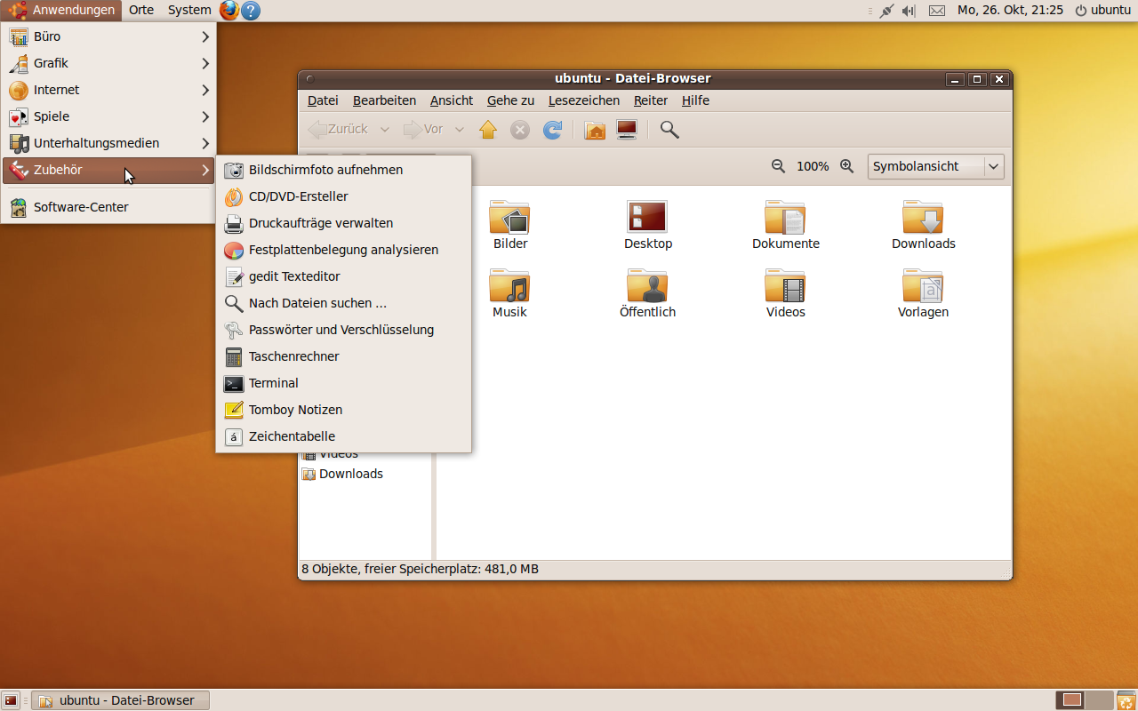 ubuntu 9.10 in italiano