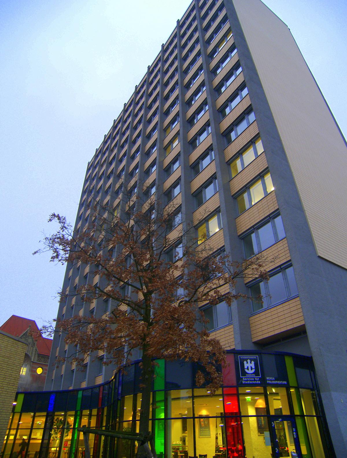 Philosophenturm wikipedia for Hamburg universitat