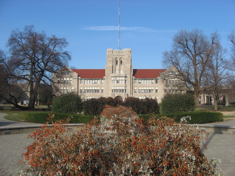 File:University of Evansville main administration building.jpg