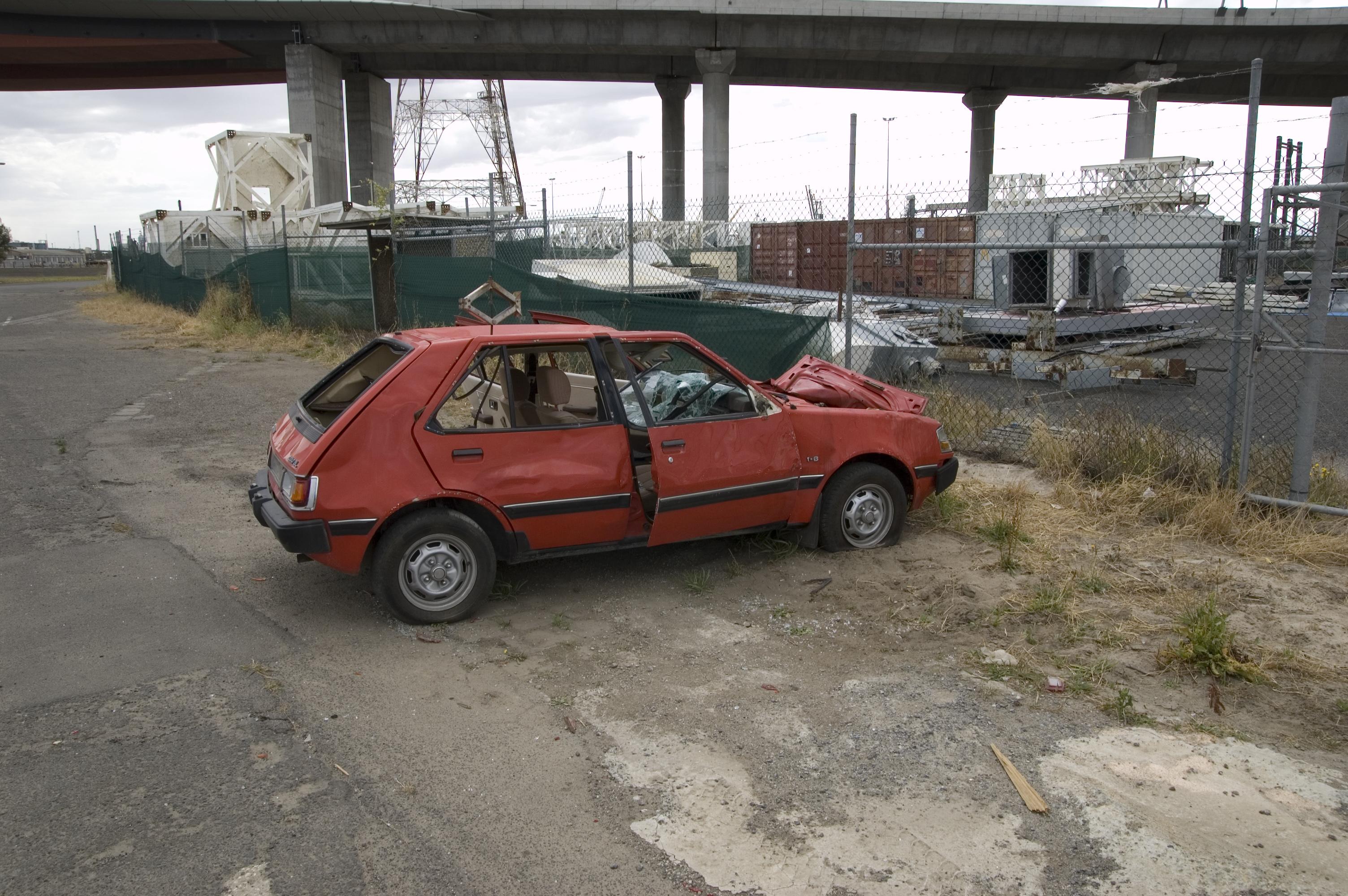 Beat Up Cars