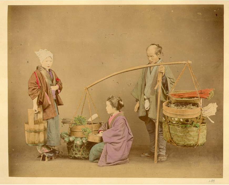 Vegetable_peddler_Kusakabe_Kimbei