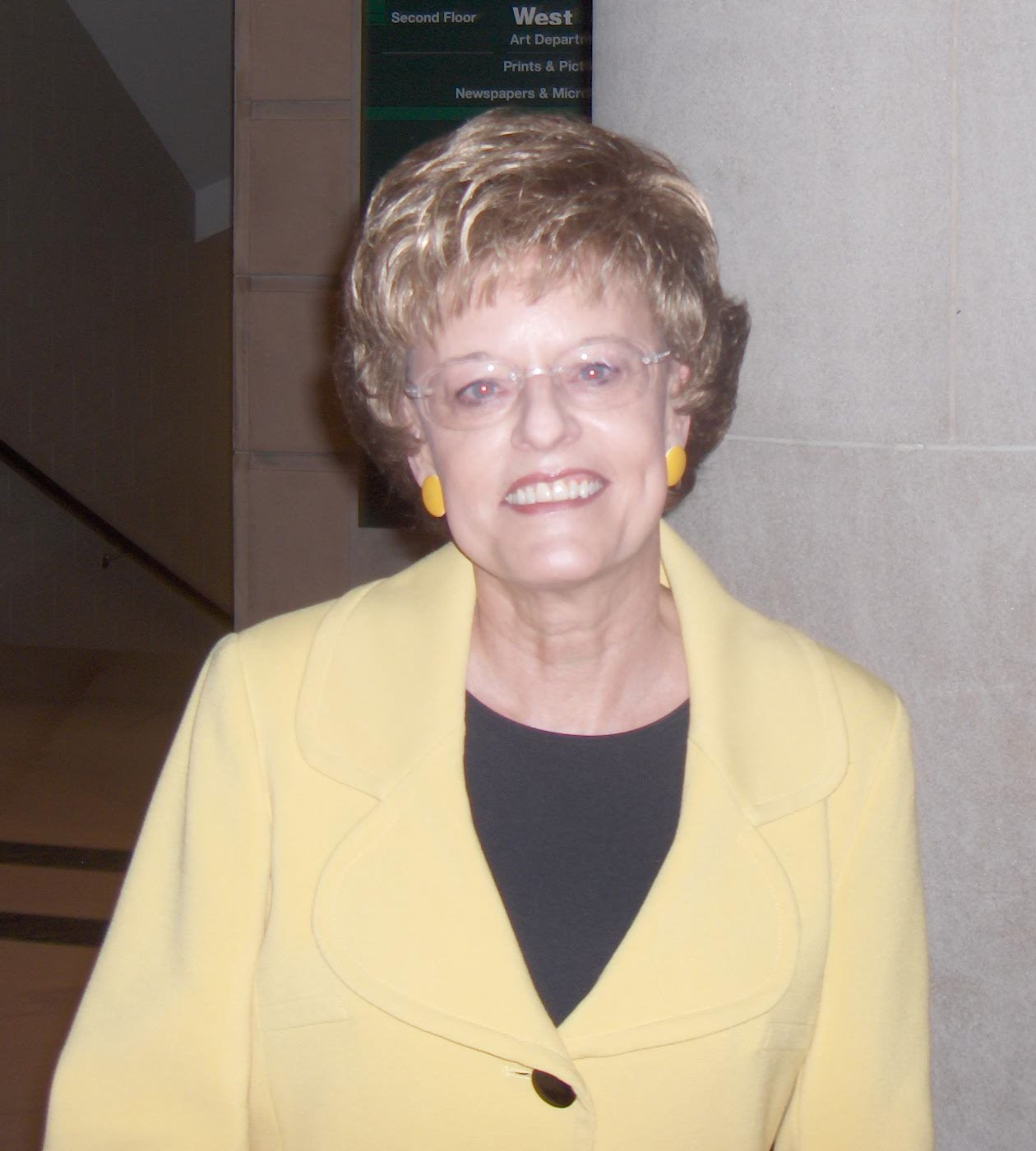 Vicki Myron in 2009