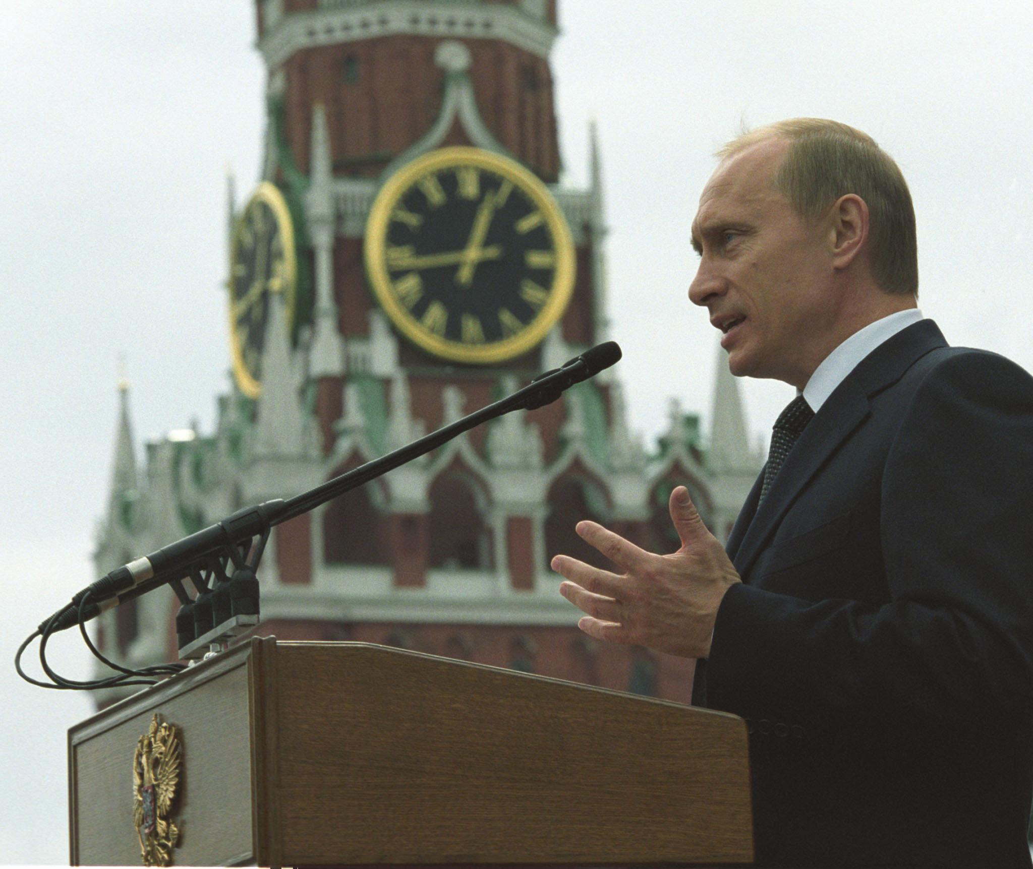 Im Zentrum der Macht: Wladimir Putin