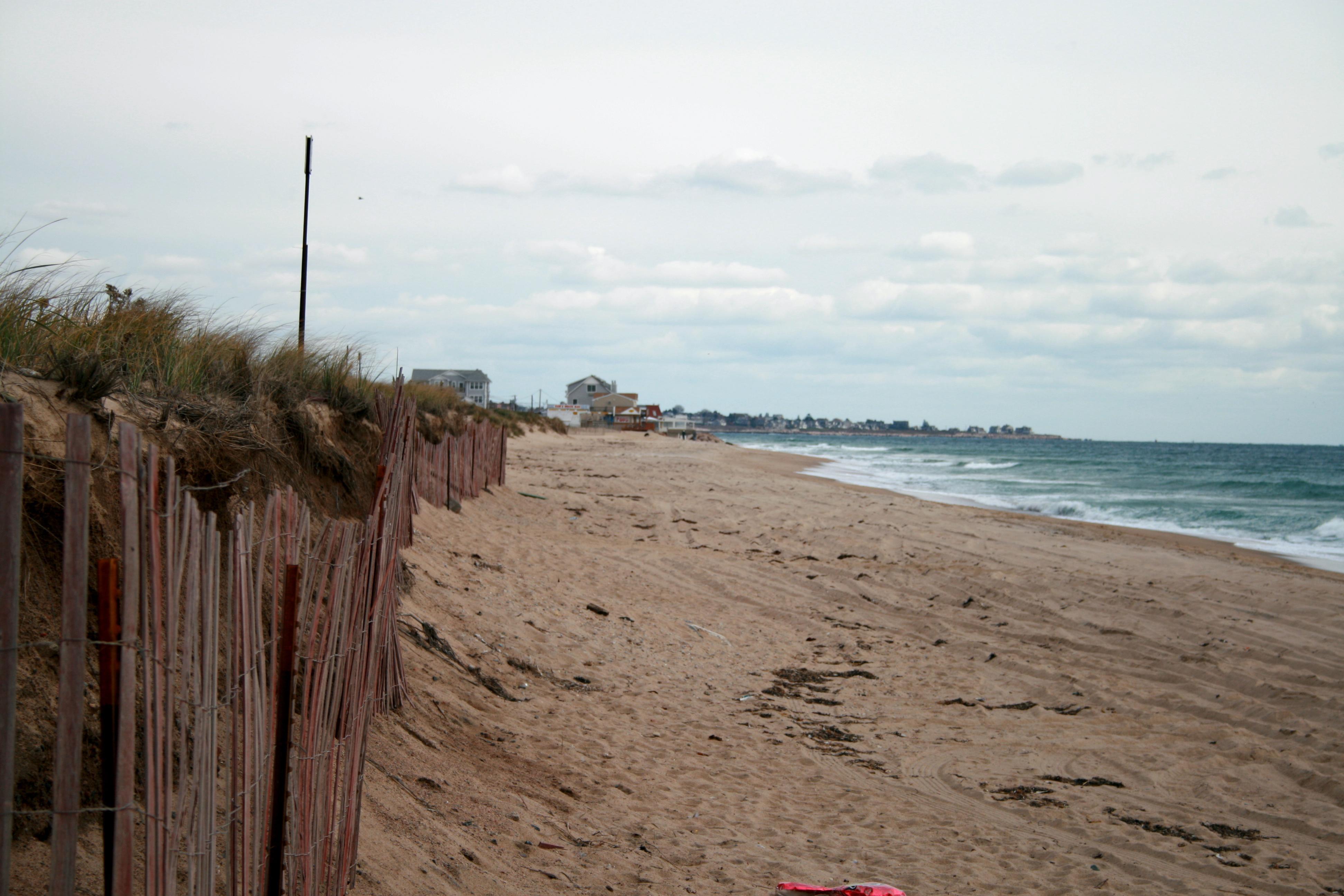 Fence Misquamicut Beach Rhode Island