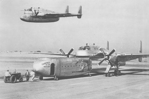 Fairchild XC-120 Packplane - Wikipedia