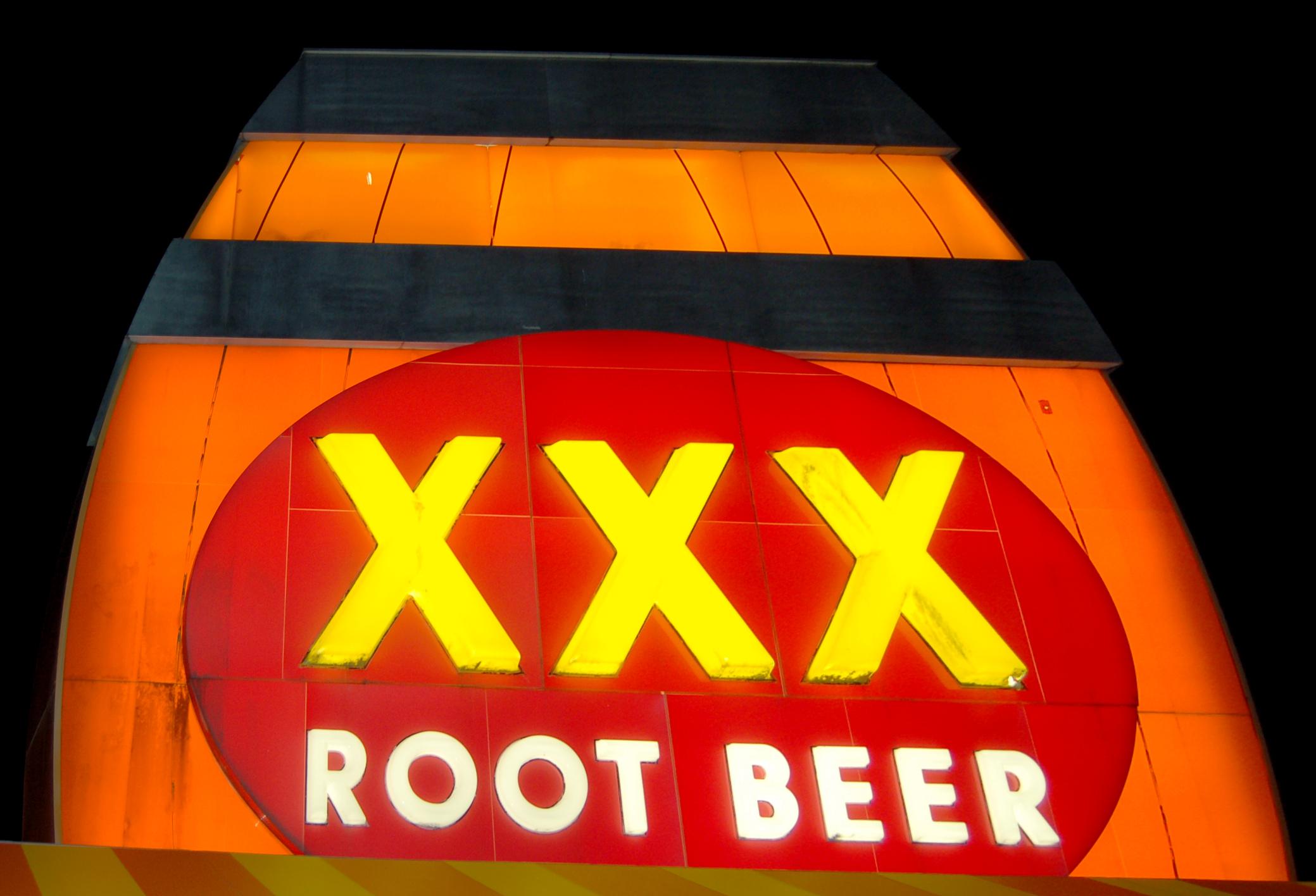 Triple xxx rootbeer