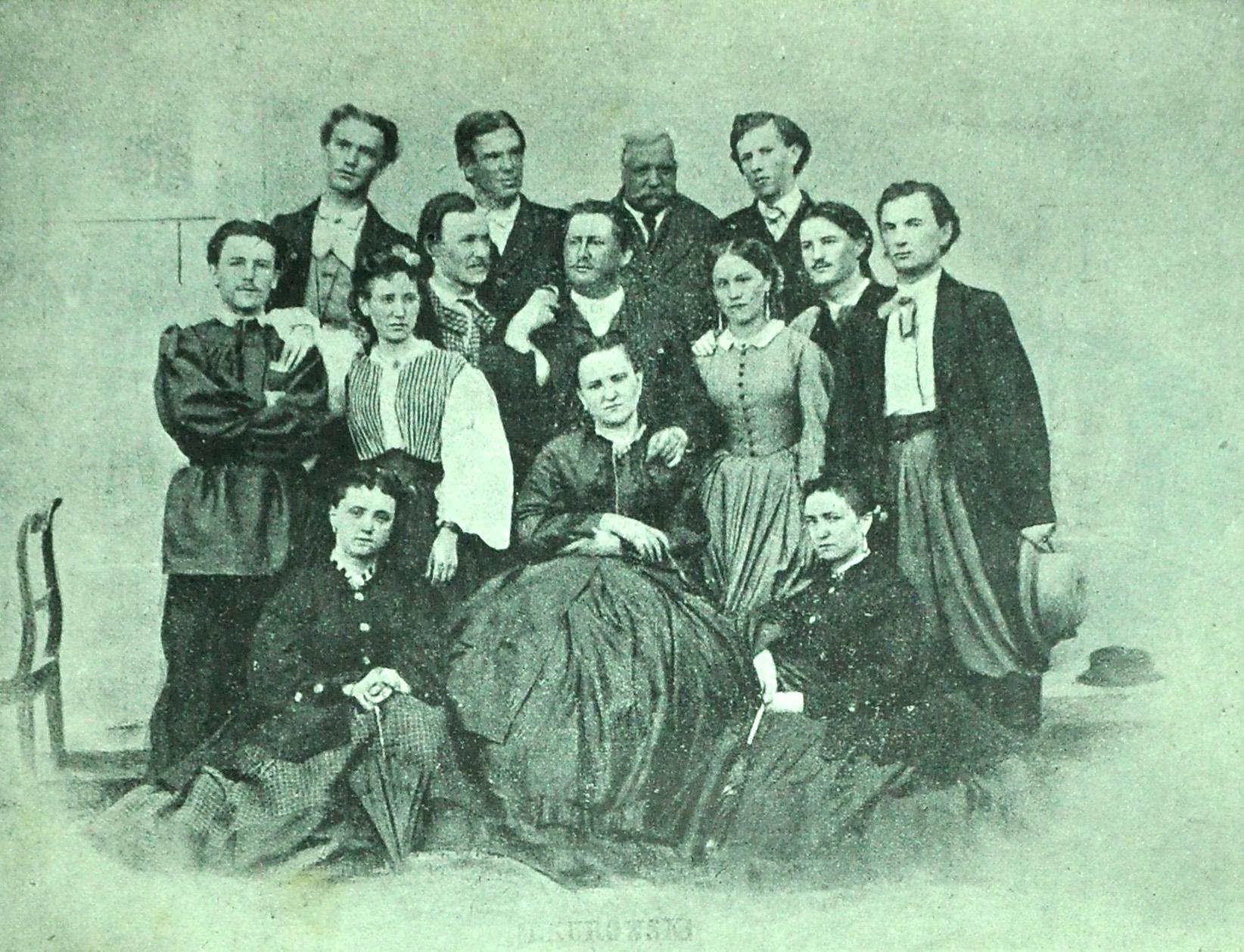 Картинки по запросу створення у Львові першого професійного українського театру (1864 р.);
