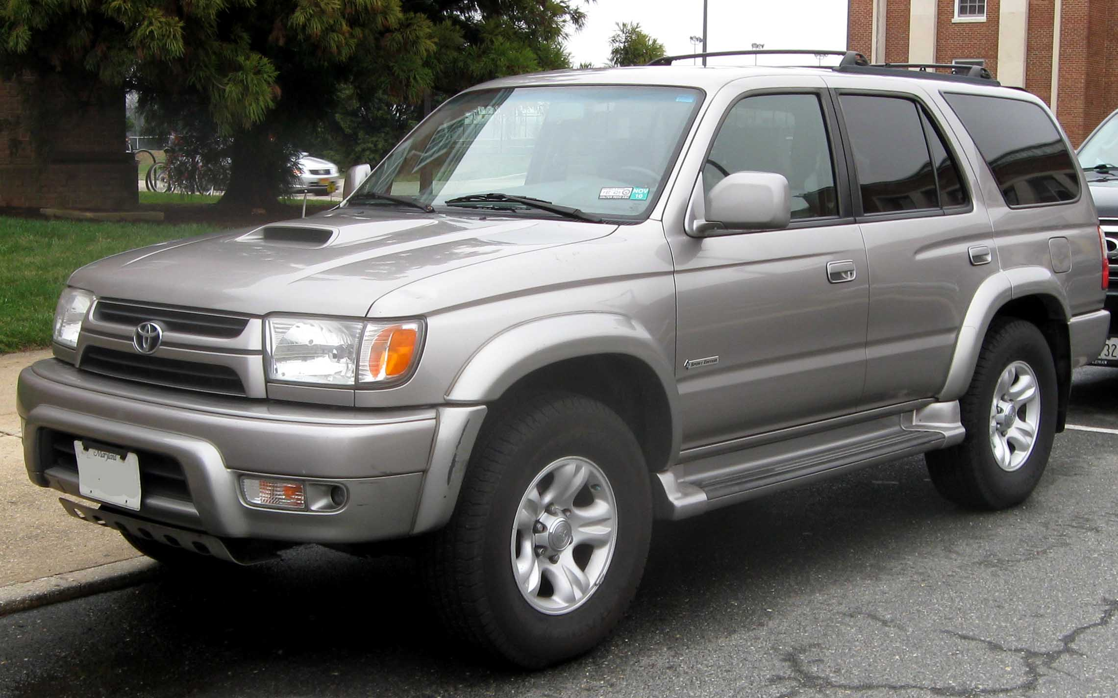 File 01 02 Toyota 4runner Sport Edition Jpg Wikipedia