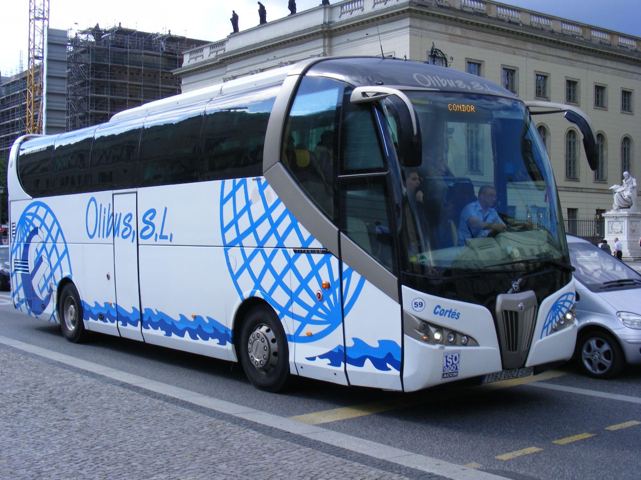 File:1163 GDZ Olibus SL, Spain Volvo - Noge Titanium - Flickr - sludgegulper