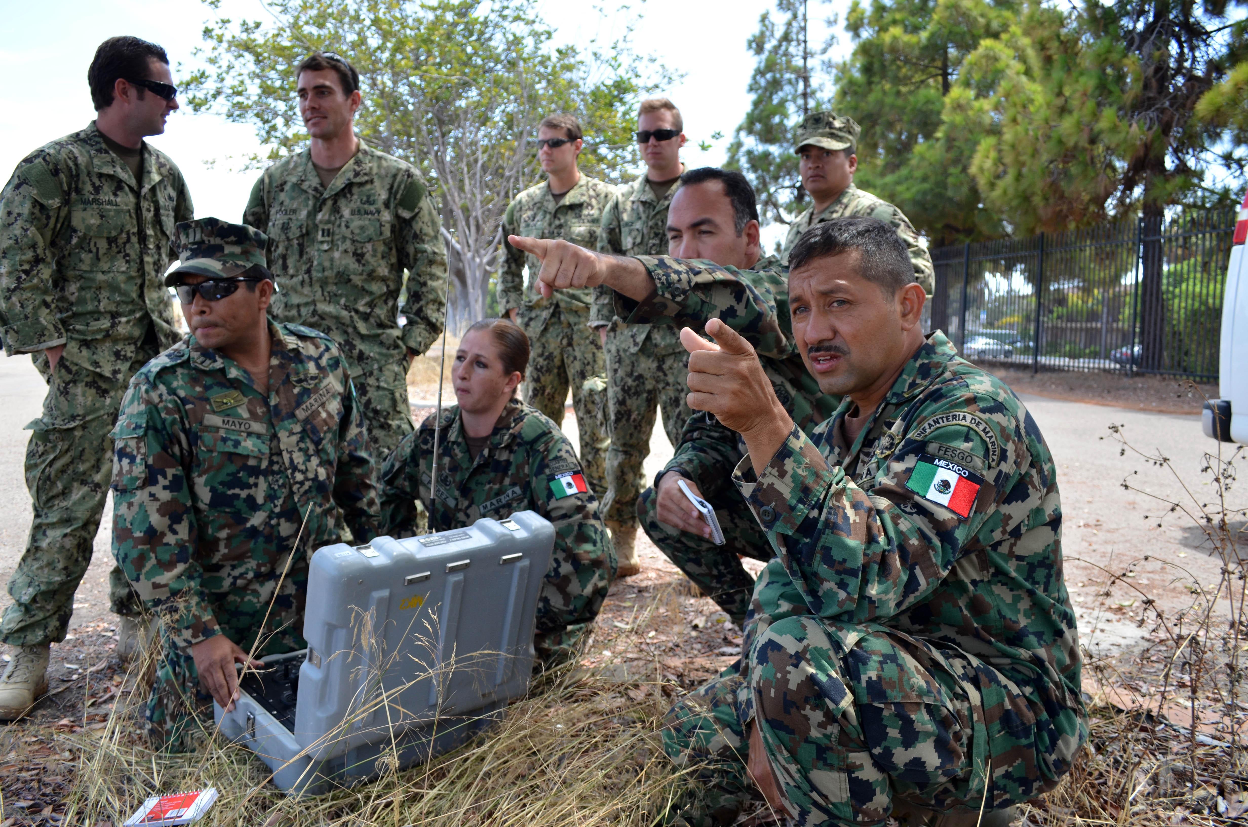 marine corps explosive ordnance disposal