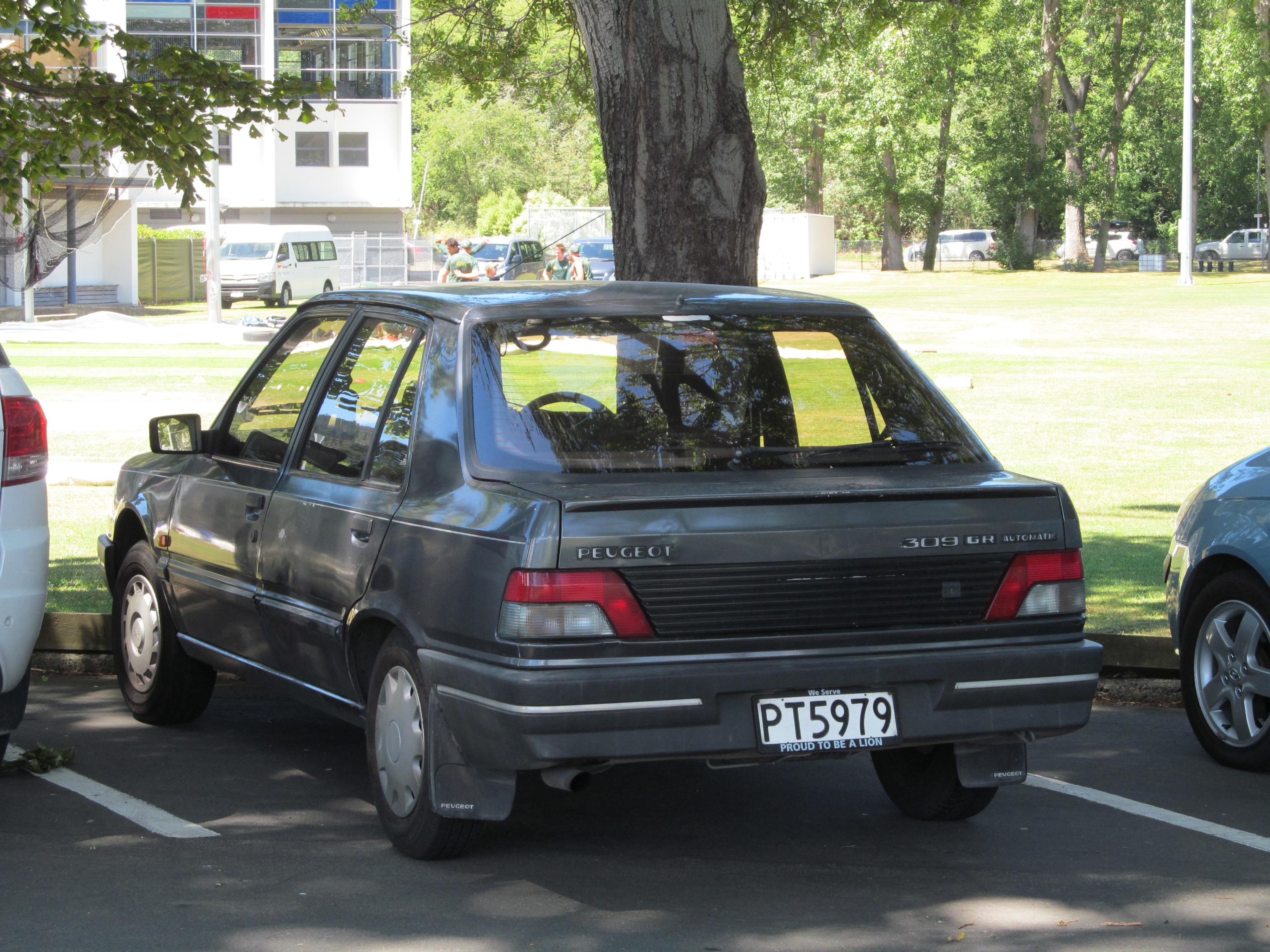 File 1990 Peugeot 309 Gr Automatic 17048968932 Jpg Wikimedia Commons